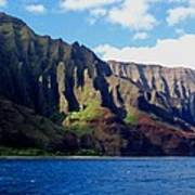 Na Pali Coast On Kauai Art Print
