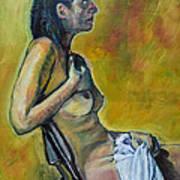 Naked Tellervo 1 Art Print