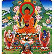 Namo Amitabha Buddha 40 Art Print