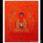Namo Amitabha Buddha 7 Art Print