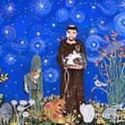 Nancy's St. Francis Art Print