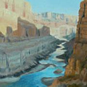 Nankoweap Canyon Art Print