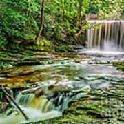 Nant Mill Waterfall Art Print