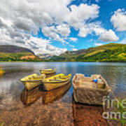 Nantlle Lake Art Print