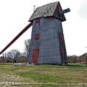 Nantucket Old Mill Art Print