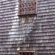 Nantucket Olde Gaol Windows Art Print