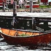 Nantucket Sleigh Ride Whaleboat Art Print