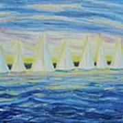 Nantucket Sunrise Art Print