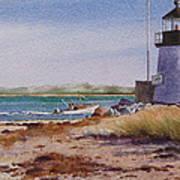 Nantucket Winter Light Art Print