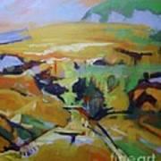 Napa Valley Perriwinkle Sky Art Print