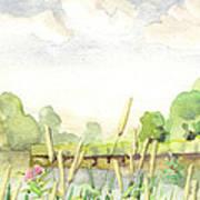 Napanee River West Art Print