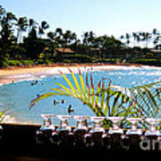 Napili Bay Maui Hawaii Art Print
