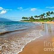 Napili Beach Paradise Art Print