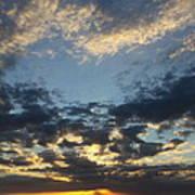 Naples Beach Sunset Art Print
