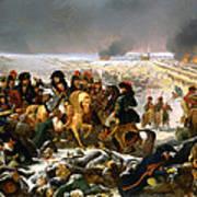 Napoleon On The Battlefield Of Eylau Art Print