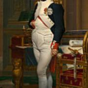Emperor Napoleon In His Study At The Tuileries Art Print