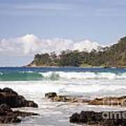 Narrawallee Beach On The South Coast Of New South Wales Australia Art Print