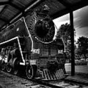 Nashville Locomotive  Art Print