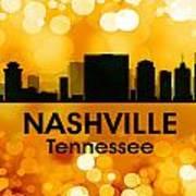 Nashville Tn 3 Art Print
