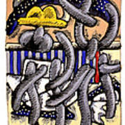 Nassau Junkanoo 1 Art Print by Philip Slagter