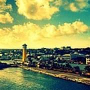 Nassau The Bahamas Art Print