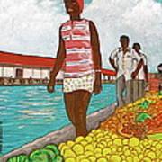Nassau Woman Art Print