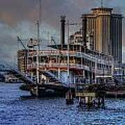 Natches Riverboat Art Print