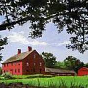 Nathan Hale Homestead Coventry Connecticut Art Print