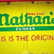 Nathan's Famous Art Print