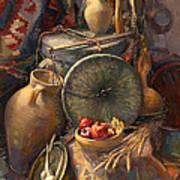 National Armenian Still-life Art Print
