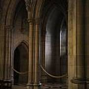 National Cathedral Interior Art Print