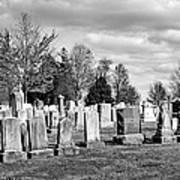 National Cemetery - Gettysburg Battlefield Art Print