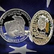 National Law Enforcement Memorial Mint Art Print by Gary Yost