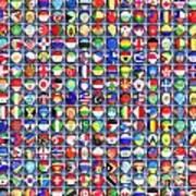 Nations United Art Print