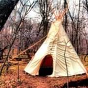 Native American Abode Art Print