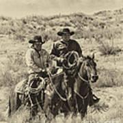 Native American Cowboys Art Print
