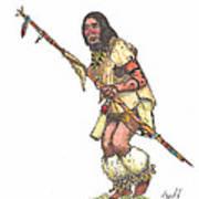 Native American Dancer Art Print