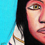 Native American Girl 2 Art Print