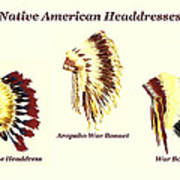 e660b5da5 Native American Headdresses Number 2 Painting by Michael Vigliotti