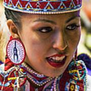 Native American Princess Art Print