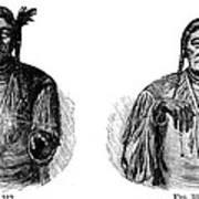 Native Americans: Sign Language Art Print