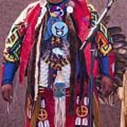 Native Hoop Dancer Art Print