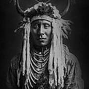 Native Man Circa 1900 Art Print