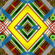 Native Weave Life Art Print