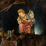 Nativity Angel  Art Print
