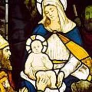 Nativity Art Print by Robert Anning Bell