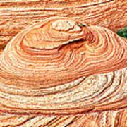 Natural Abstract Canyon De Chelly Art Print