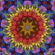 Natural Attributes 17 Square Art Print