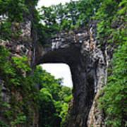 Natural Bridge In Rockbridge County Virginia Art Print