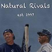 Natural Rivals Art Print
